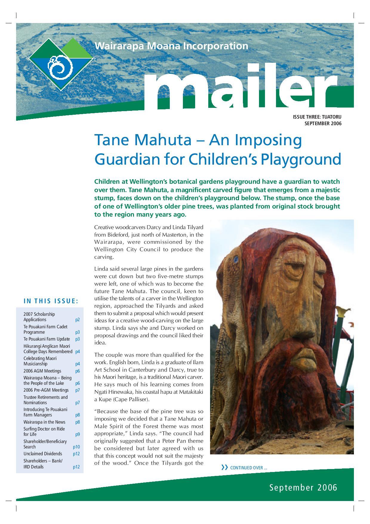 Issue 3 September 2006