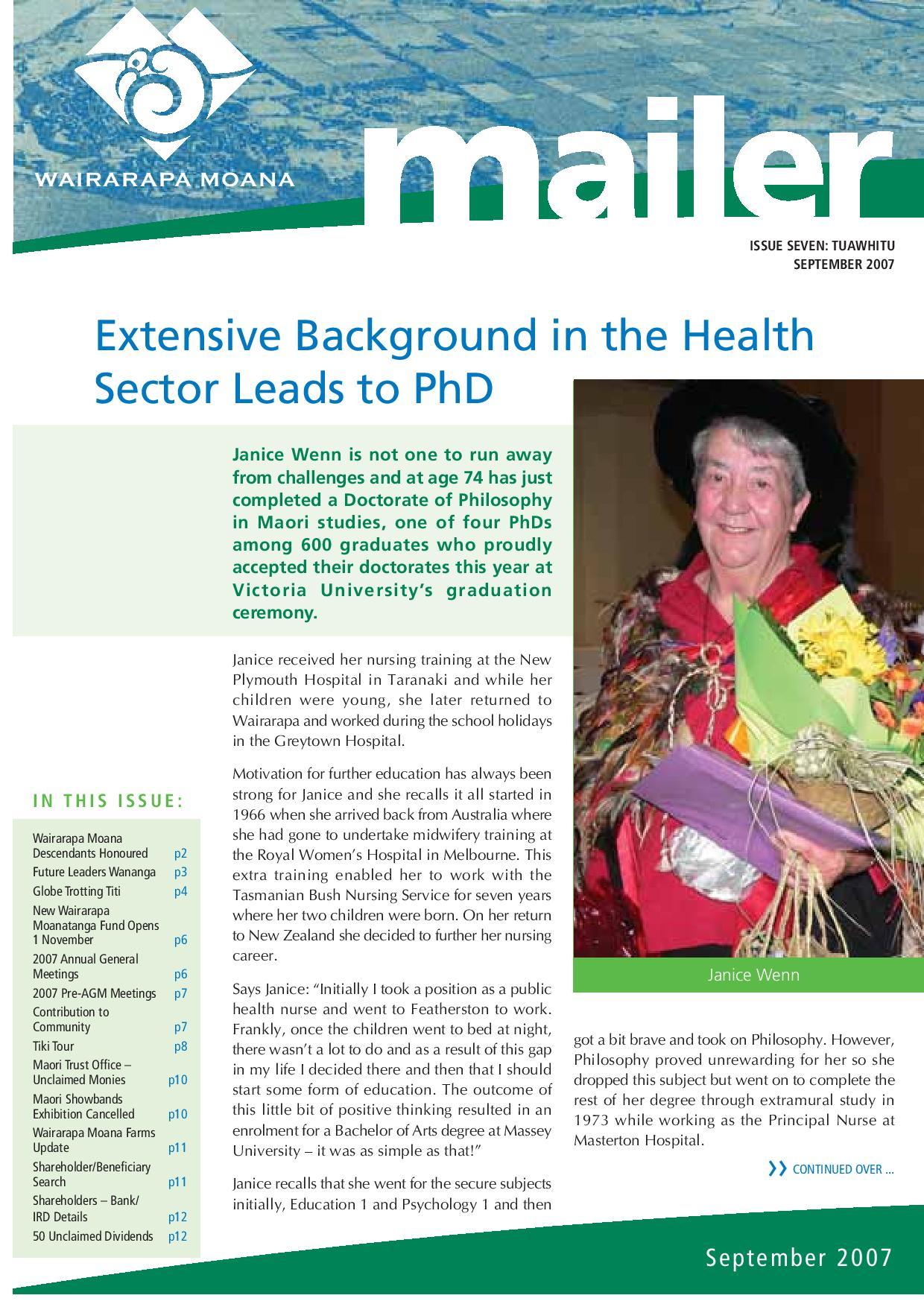 Issue 7 September 2007