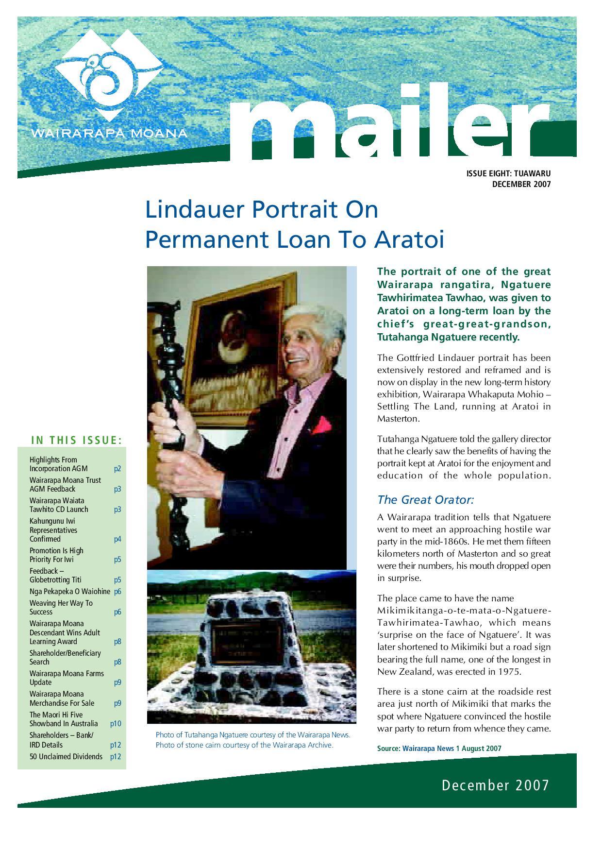 Issue 8 December 2007