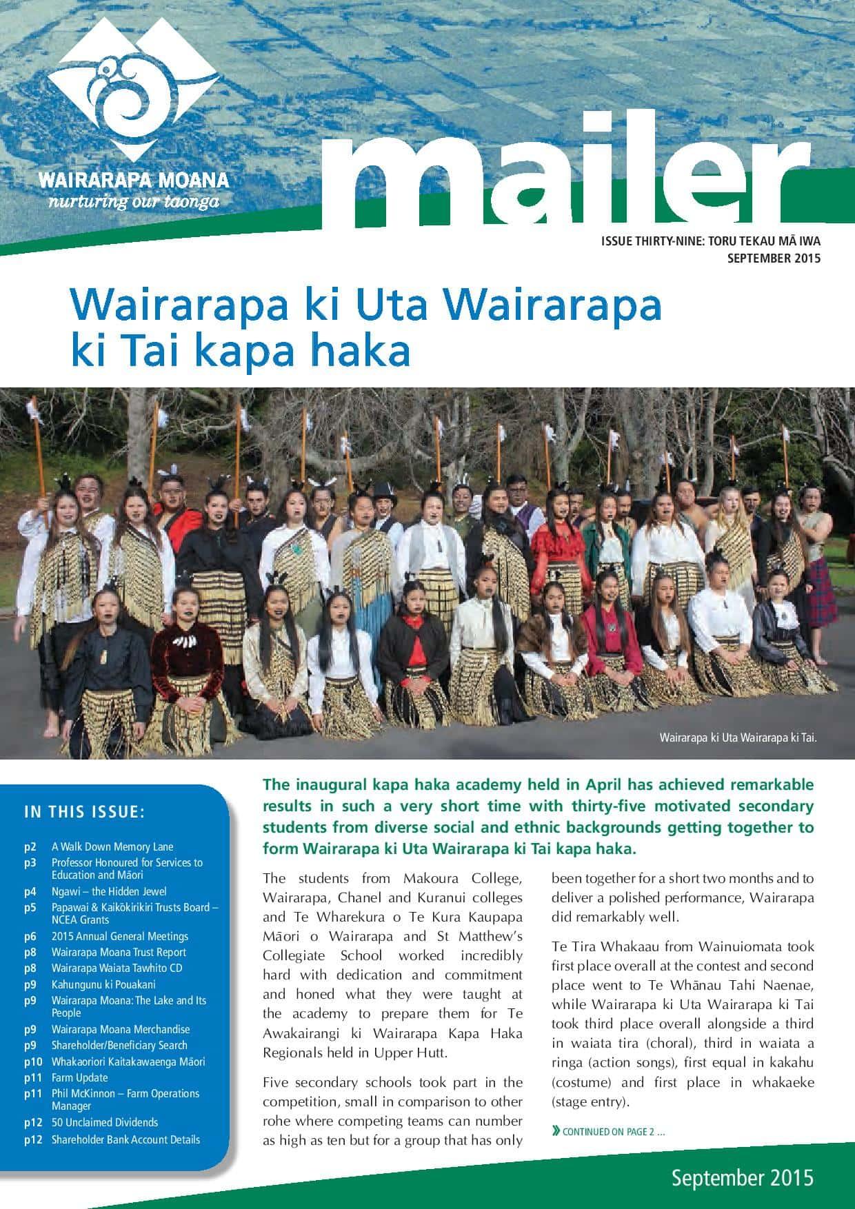 Issue 39 September 2015