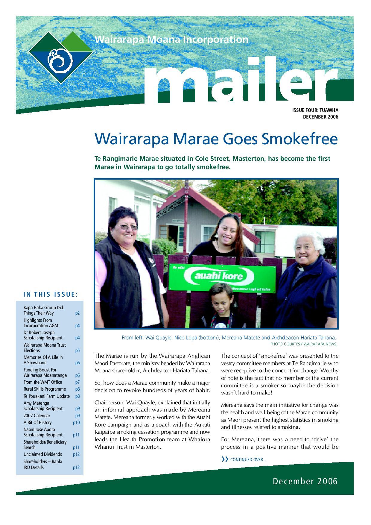 Issue 4 December 2006
