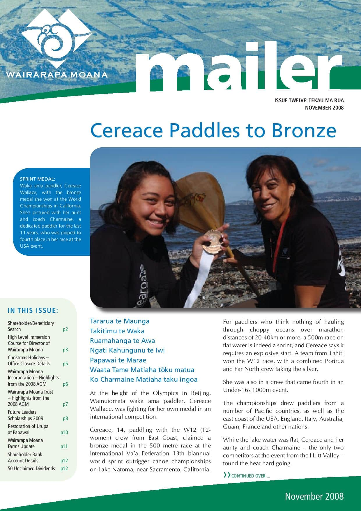 Issue 12 November 2008