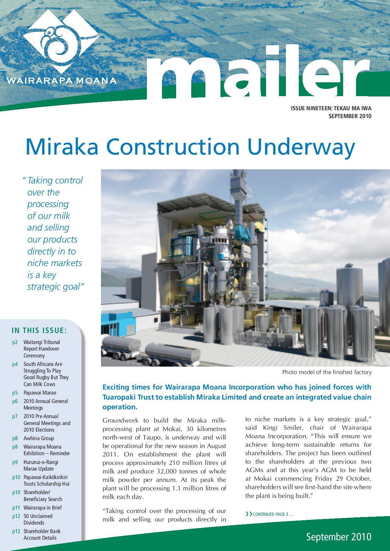 Issue 19 September 2010