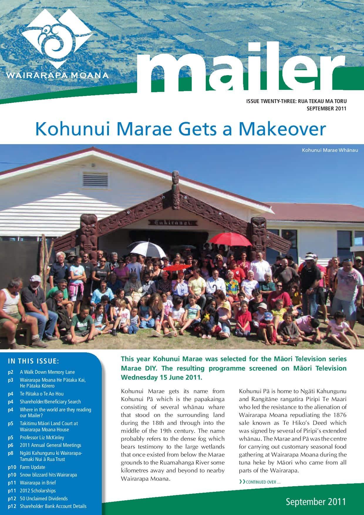 Issue 23 September 2011
