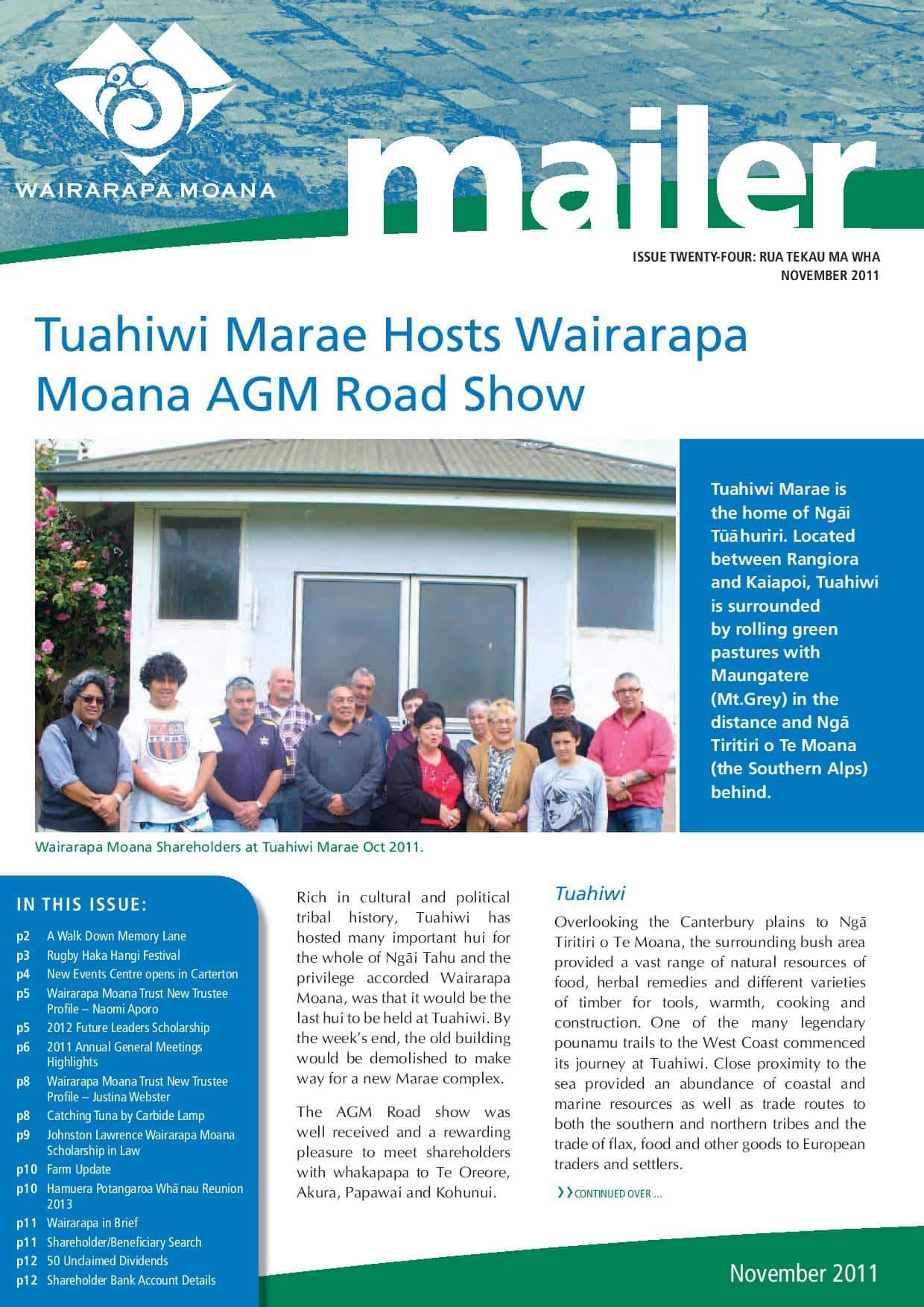 Issue 24 November 2011