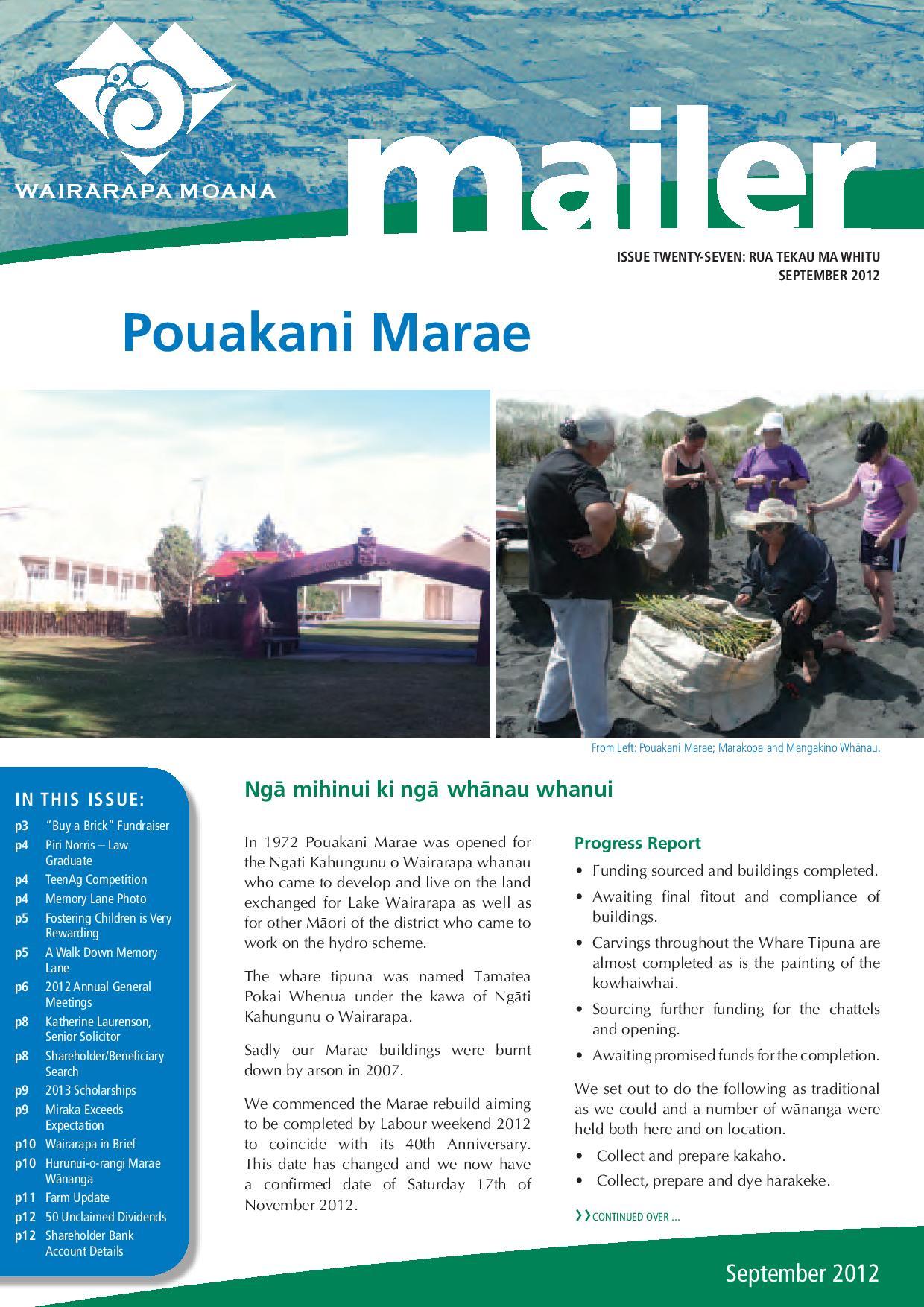 Issue 27 September 2012