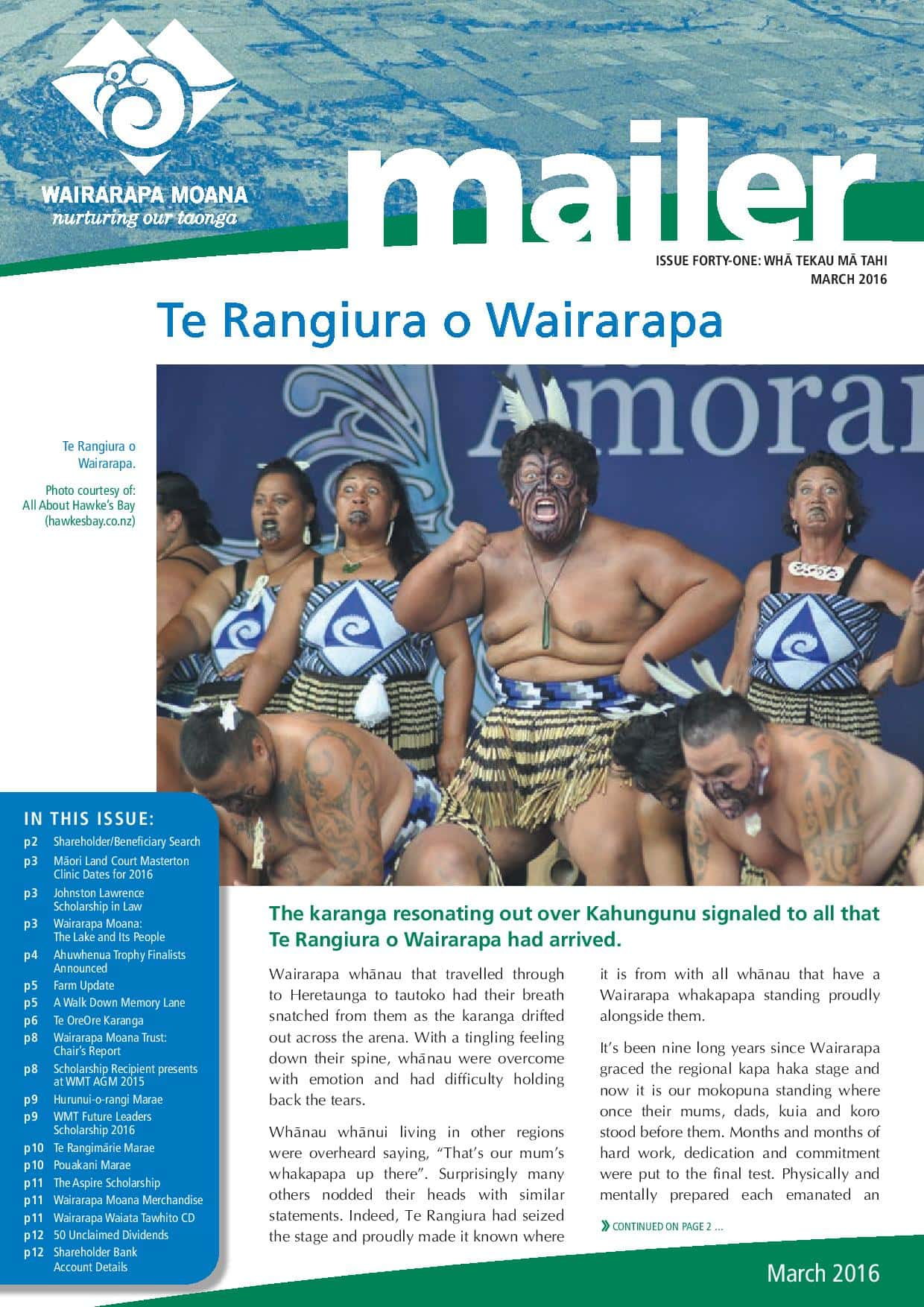 Issue 41 March 2016