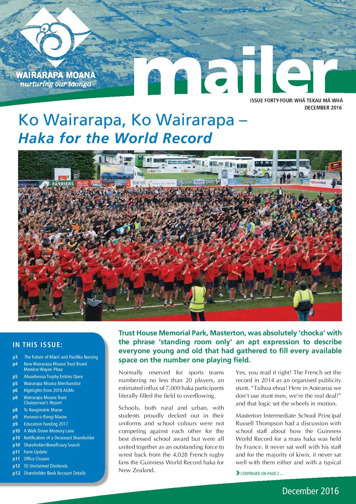 Issue 44 December 2016