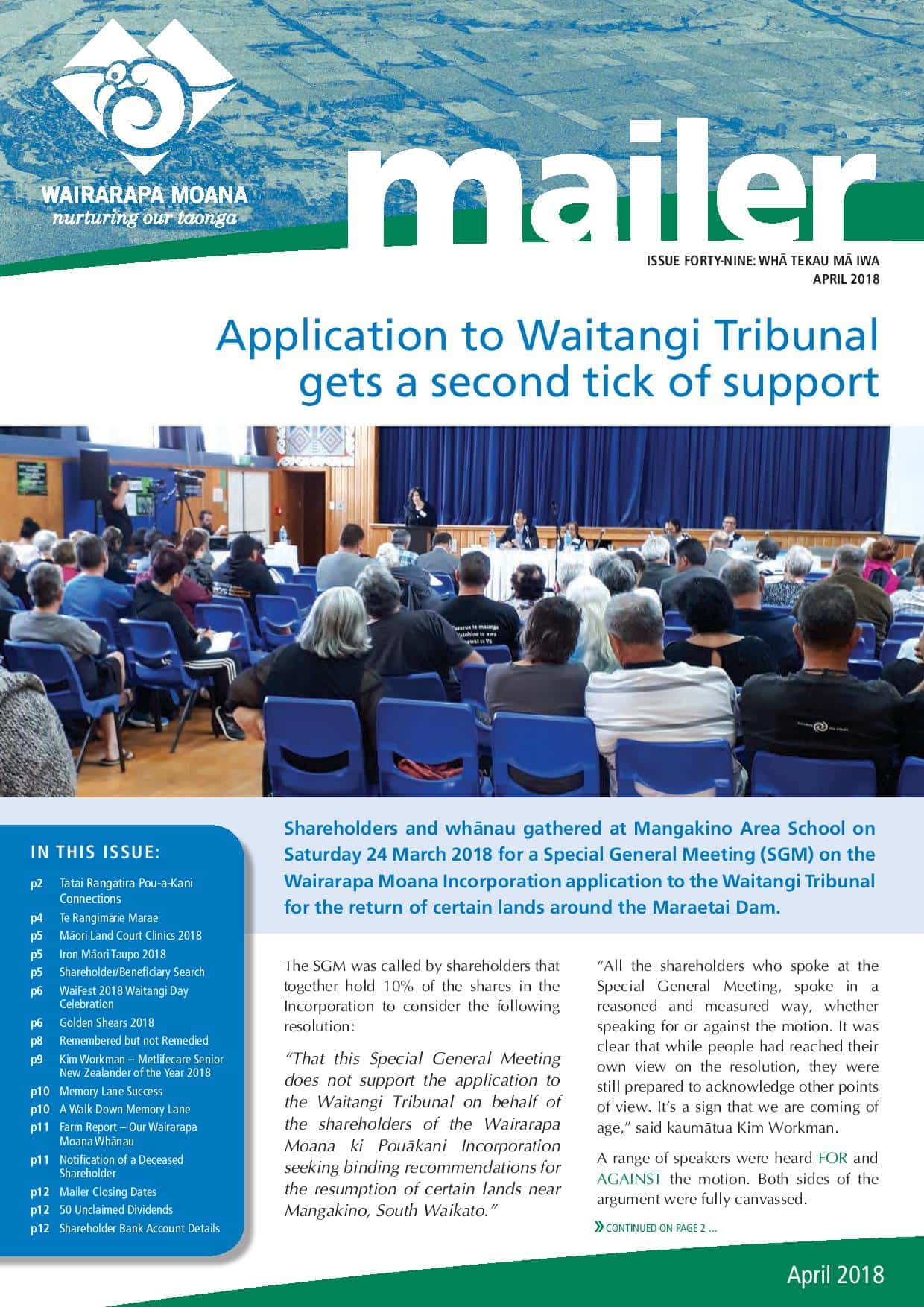 Issue 49 April 2018