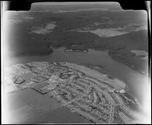 Matapihi-Mangakino aerial 1961